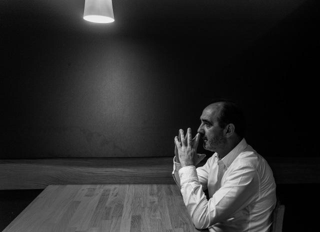 Daniel Innerarity. fotos hechas en el bodegon Alejandro